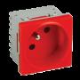 Priza modulara schuko cu impamantare tip UPS - DLX DLX-245-46-UPS