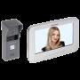 Kit videointerfon analogic 7'', camera Pinhole, conectare 4 fire - HIKVISION DS-KIS203