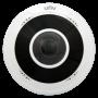 Camera IP 5 MP, lentila 1.4 mm FISHEYE 360, Audio, IR 10M - UNV IPC815SR-DVPF14