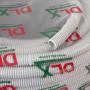 Tub flexibil (copex) D16, Halogen free, ignifug, cu fir tragere, rola 100 metri - DLX CRP-869-16