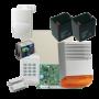 Kit alarma la efractie DSC cu sirena exterioara KIT1404EXT-BS1-OPT